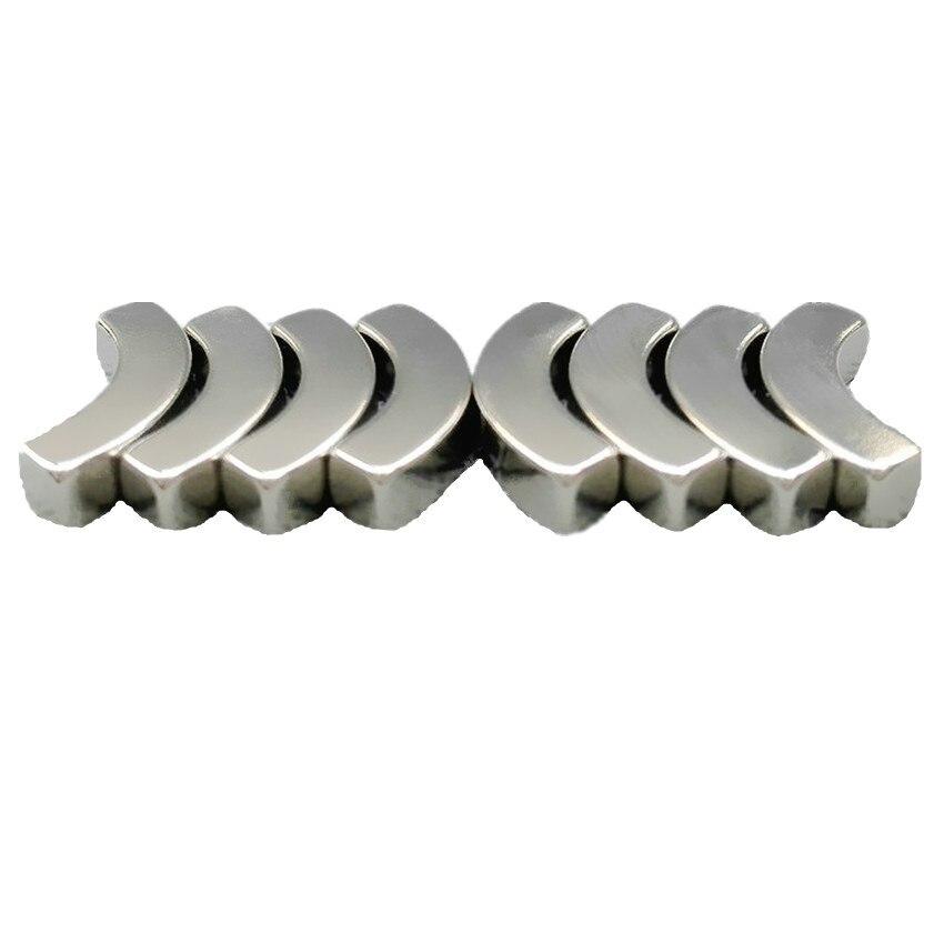 8 pcs NdFeB Arc Segment OD35xID25x90degx4 5 mm 1 38 N42 Motor Magnet for Generator Wind