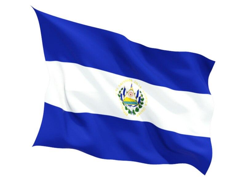 Env o libre el salvador bandera bandera nueva 90x150 cm el for Banderas decorativas para jardin