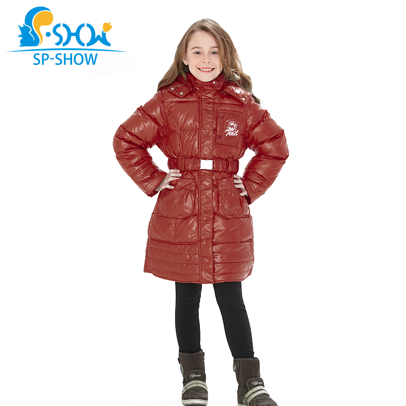 SP-SHOW Winter and fall Childrens Outwear O-neck Down Jacket Raccoon Fur Hat Child Winter Coat Thicker Warm Jacket Girl JacketSP-SHOW Winter and fall Childrens Outwear O-neck Down Jacket Raccoon Fur Hat Child Winter Coat Thicker Warm Jacket Girl Jacket