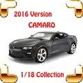Nieuwjaar Gift 2016 CMR 1/18 Model Sportwagen Metallic voertuig Collection Lichtmetalen Cars Speelgoed Grote Schaal Woondecoratie Statische speelgoed