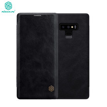 Nillkin Flip Case For Samsung Galaxy Note 9 Note9 Qin Series PU Leather Cover sFor Samsung Galaxy Note 9 Case