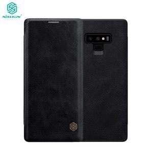 Image 1 - Nillkin Flip Fall Für Samsung Galaxy Note 9 Note9 Qin Serie PU Leder Abdeckung sFor Samsung Galaxy Note 9 Fall