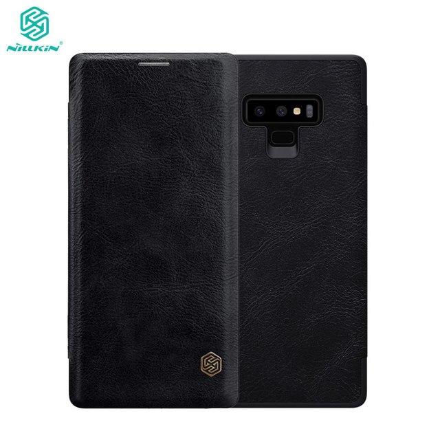 Nillkin Flip Fall Für Samsung Galaxy Note 9 Note9 Qin Serie PU Leder Abdeckung sFor Samsung Galaxy Note 9 Fall