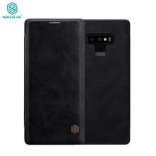 Étui pour Samsung Galaxy Note 9 Note9 série Qin étui en cuir pour Samsung Galaxy Note 9