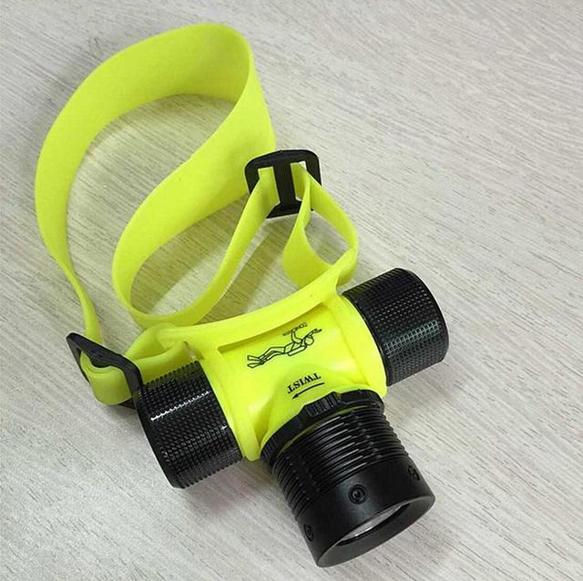 R325 Diving Light Headlamp Charging Outdoor Waterproof Imported Night Fishing  Lamp LED Without Battery
