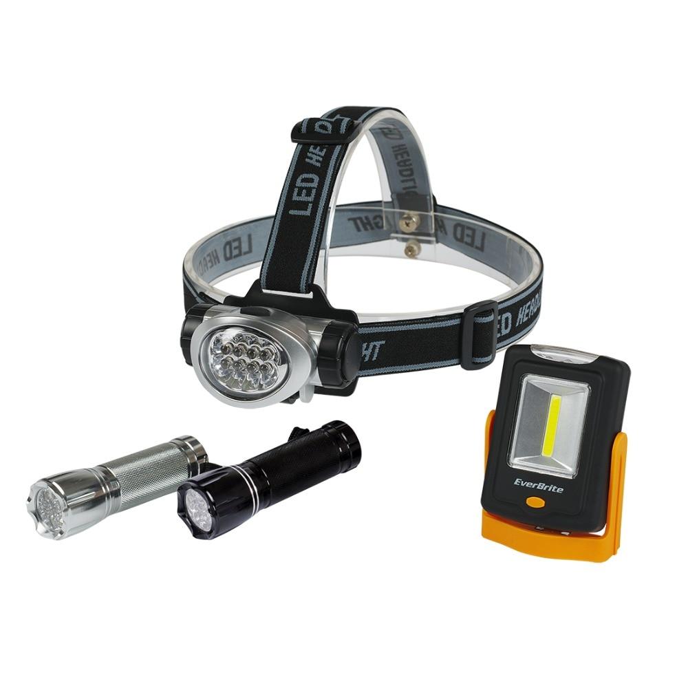 EverBrite 8LED faro LED linterna de trabajo luz DE EMERGENCIA luz que acampa