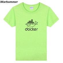 Warhammer IT Techanical Men T shirt Geek Programmer Summer O-neck Short Sleeve 3XL Coding Shirt Programmer Cotton Funny T shirts
