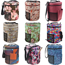 11 Styles Practical Big Capacity Yarn Storage Bag Women Home For Crochet Hook Knitting Needles Sewing Accessory