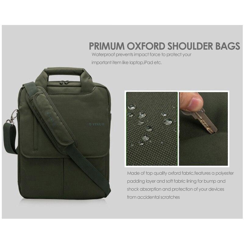 YINUO Moda noutbuk çantası 13.3