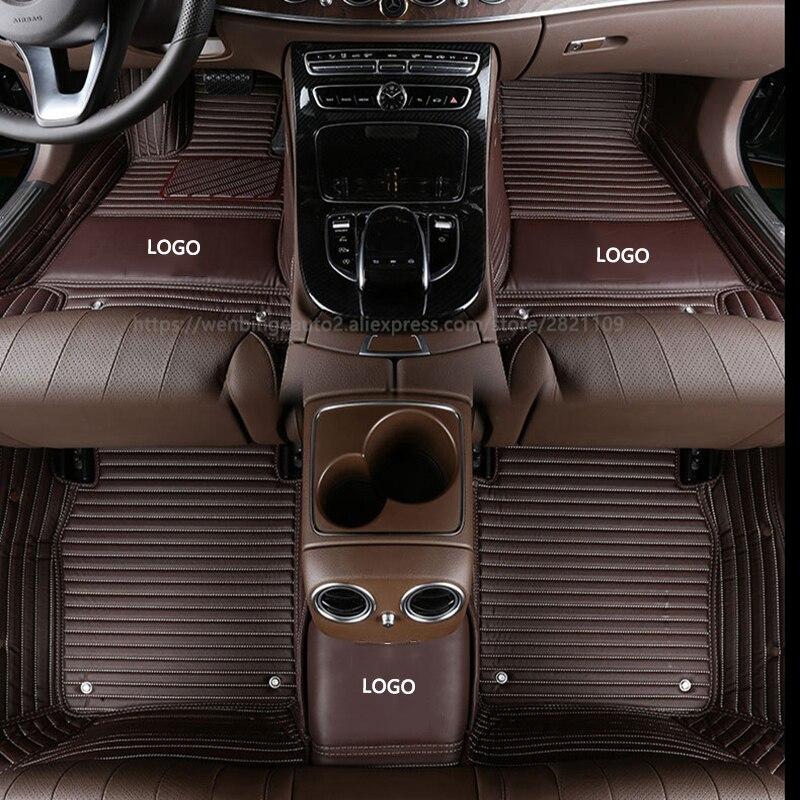Custom Car Floor Mats For Zotye 2008 5008 T200 T600 Z100 Z200 Z300
