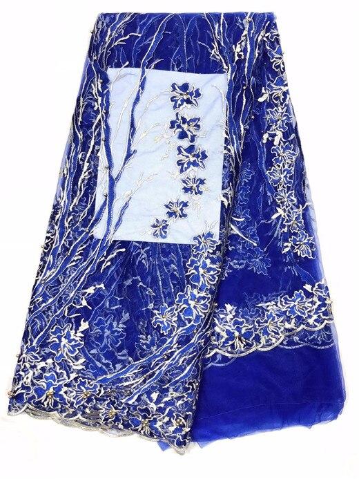 Новое поступление красивые африканские кружевной ткани высокого качества вышивка бисером тюль французский чистая кружева для gole вечернее ...