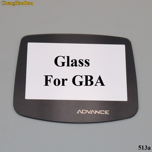 Image 3 - Lente de vidro plástica para a lente de vidro da tela de gbc gba para o protetor avançado da lente da cor do gameboy com/adhensive