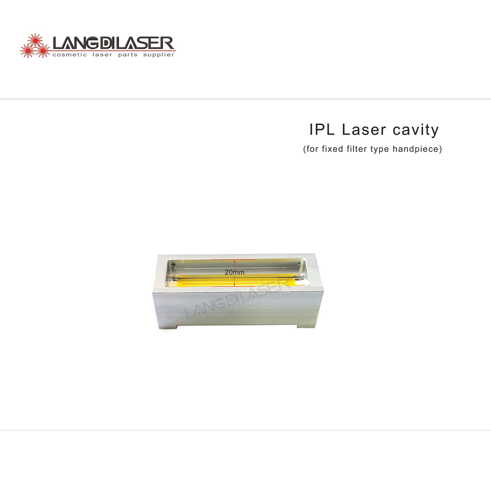 IPL hand piece reflector cavity for filter fixed IPL hand piece