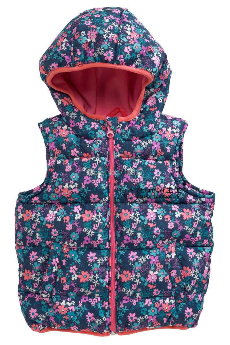 Meliya Little Girls Autumn//Winter Fleece Vest Waistcoat Solid Color Jacket Sweater Windproof Outerwear Tops Age 1-5 Years