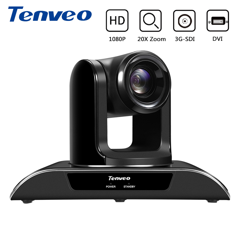 Tenveo VHD20N HDMI HD 1080p PTZ Indoor Camera SDI Camera 20X Zoom Cam Action Video Conference Webcam 3G-SDI Output for Projector image