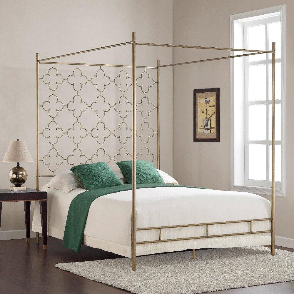 Cadre de lit en métal à baldaquin 1800x2000mm