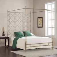 Canopy Metal Bed Frame 1800x2000mm