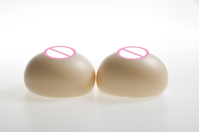White Fake Breast Boobs 2000g/pair Waterdrop Realistic Silicone Breast Form Mastectomy Cross Dresser Full Boobs new1000g d cup100%pure natural medical silica gel silicone breast cross dresser breast silicone mastectomy transvestite clothing
