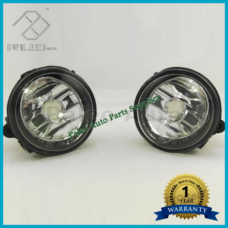 For BMW X6 E71 E72 2013 2014 2015 New Front Pair Halogen Fog Light Fog Lamp Without Bulbs 63177311351 63177311352