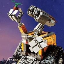 Lepin 16003 Idea Robot WALL E Building Blocks Minifigures Bricks Toys for Children WALL-E Birthday Gifts Compatible Legoed 21303