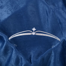 Snuoy Double-layer Crystal Lady Temperament Tiara Headbands Hair Accessories Super Star Models Hair Jewelry & Accessories HG742