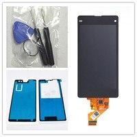 JIEYER Đen LCD Hiển Thị + Touch Screen Digitizer Glass Hội Cho Sony Xperia Z1 Mini Nhỏ Gọn D5503 Thay Thế,