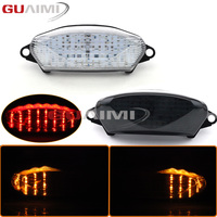 for Honda VTR1000 1997 2001 2002 2003 2004 2005 LED Motorcycle rear modified taillights assembly rear brake light with steering