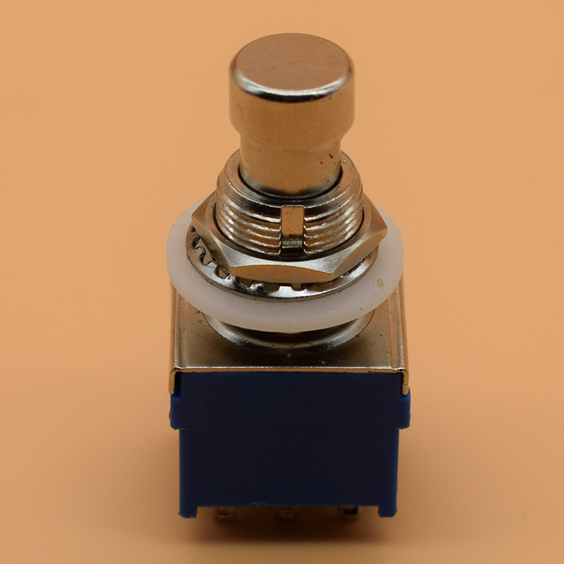 3PDT 9 pins Guitar Effects push button Switch foot pedal switches guitar switch хай хэт и контроллер для электронной ударной установки roland fd 9 hi hat controller pedal