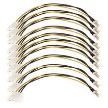 Компьютерный Вентилятор, стандартный разъём кабельный переходник шнур-переходник