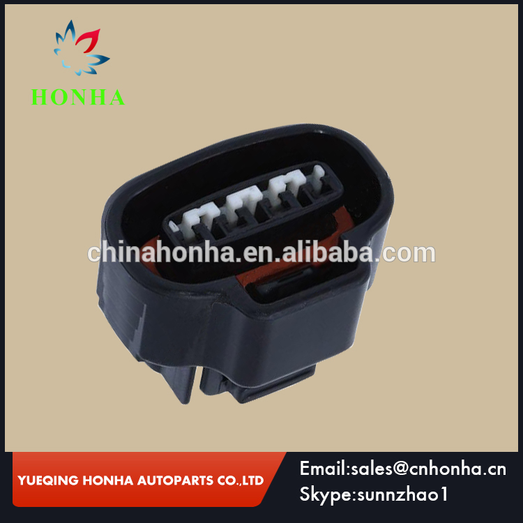 10/<font><b>20</b></font>/50/100 pcs 2JZ-GE Crank 4 <font><b>Pin</b></font>/way Female Wire Connector TPS Boost Sensor Oval Ignition Coil Connector Sumitomo For <font><b>Toyota</b></font> image