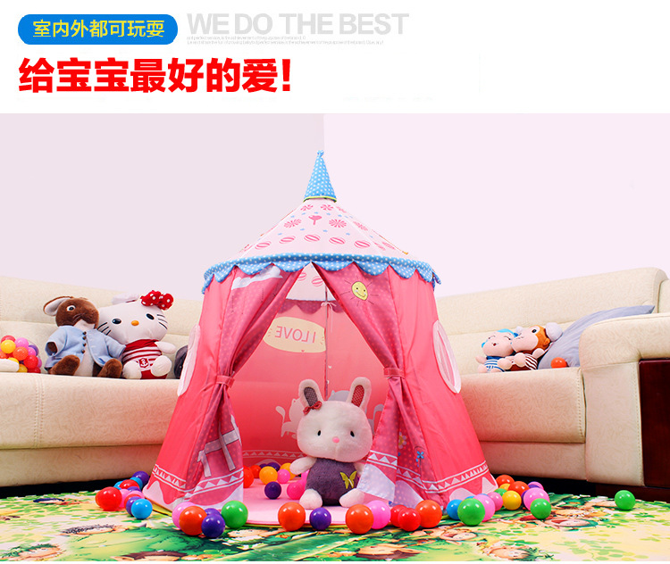 2017 child tent game house tent large children toy tent baby kids crawling play tent, christmas gift Z09-3 funny fishing game family child interactive fun desktop toy