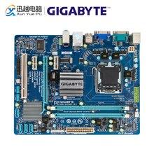جيجابايت GA G41MT S2 سطح اللوحة G41MT S2 G41 المقبس LGA 775 ل النواة 2 DDR3 8G مايكرو ATX الأصلية المستخدمة اللوحة