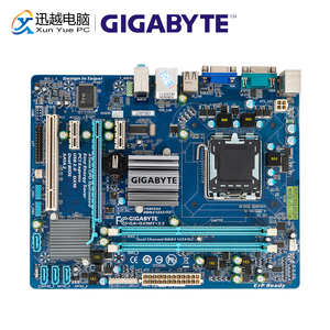 Image 1 - Gigabyte GA G41MT S2 Desktop Motherboard G41MT S2 G41 Socket LGA 775 For Core 2 DDR3 8G Micro ATX Original Used Mainboard