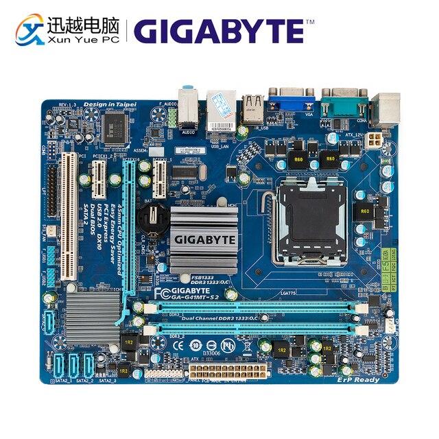 Gigabyte GA G41MT S2 Desktop Motherboard G41MT S2 G41 Socket LGA 775 For Core 2 DDR3 8G Micro ATX Original Used Mainboard