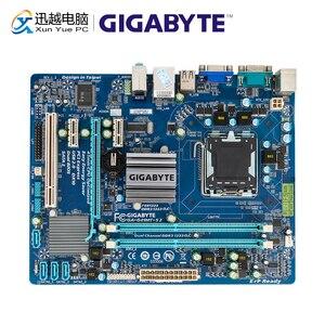 Image 1 - Gigabyte GA G41MT S2 настольная материнская плата G41MT S2 G41 розетка LGA 775 для Core 2 DDR3 8G Micro ATX оригинальная б/у материнская плата