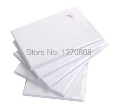 90gsm A3 Inkjet Glossy Sticker Photo Paper 50 Sheets One Lot In