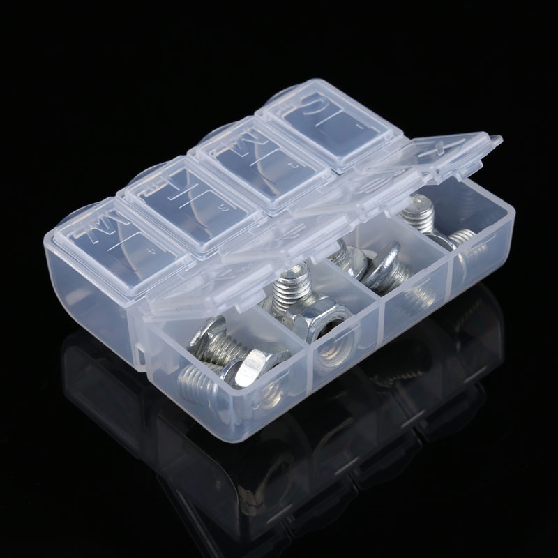 Electronic Components IC Chip Screw Storage Case Plastic Portable Practical Tool Box Mobile Phone Repair DIY Tool Boxes