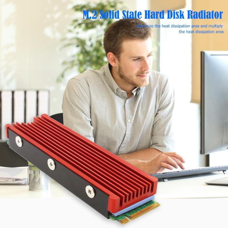 M.2 Folha NVMe Solid State Disk SSD Condutividade Térmica Do Dissipador de calor bloco de Resfriamento de Produção de Alumina Da Liga Profissional Forte