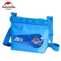 Naturehike PVC Outdoor Swimming Bags Phone Camera Diving Seal Waterproof Bag Dry Sack Drifting Shoulder Bag For Women Men S M L