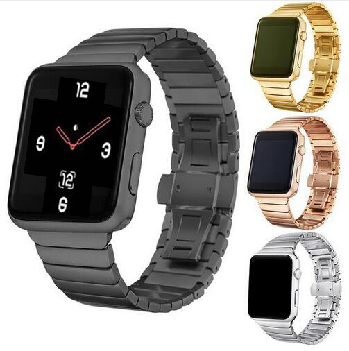 Dalan Luxury Stainless Steel Buckle For Apple Watch Band