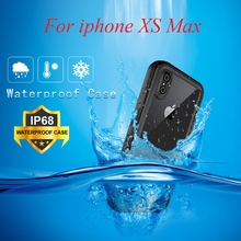 IP68 Waterproof Case for iphone XS Max 360 Full Cover Protection Diving Swimming Shockproof