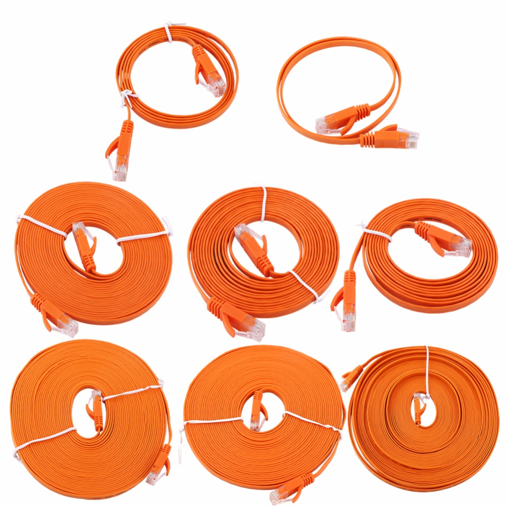 #S001 10M RJ45 Cat5e Ethernet Cable MaleTo Male Ethernet Network Lan Cable 33 FT Patch LAN Cord Fo