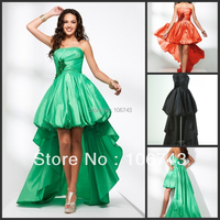 free shipping 2018 cute best seller new style short frong long back bride Custom embroldery cute hl party bridesmaid dresses