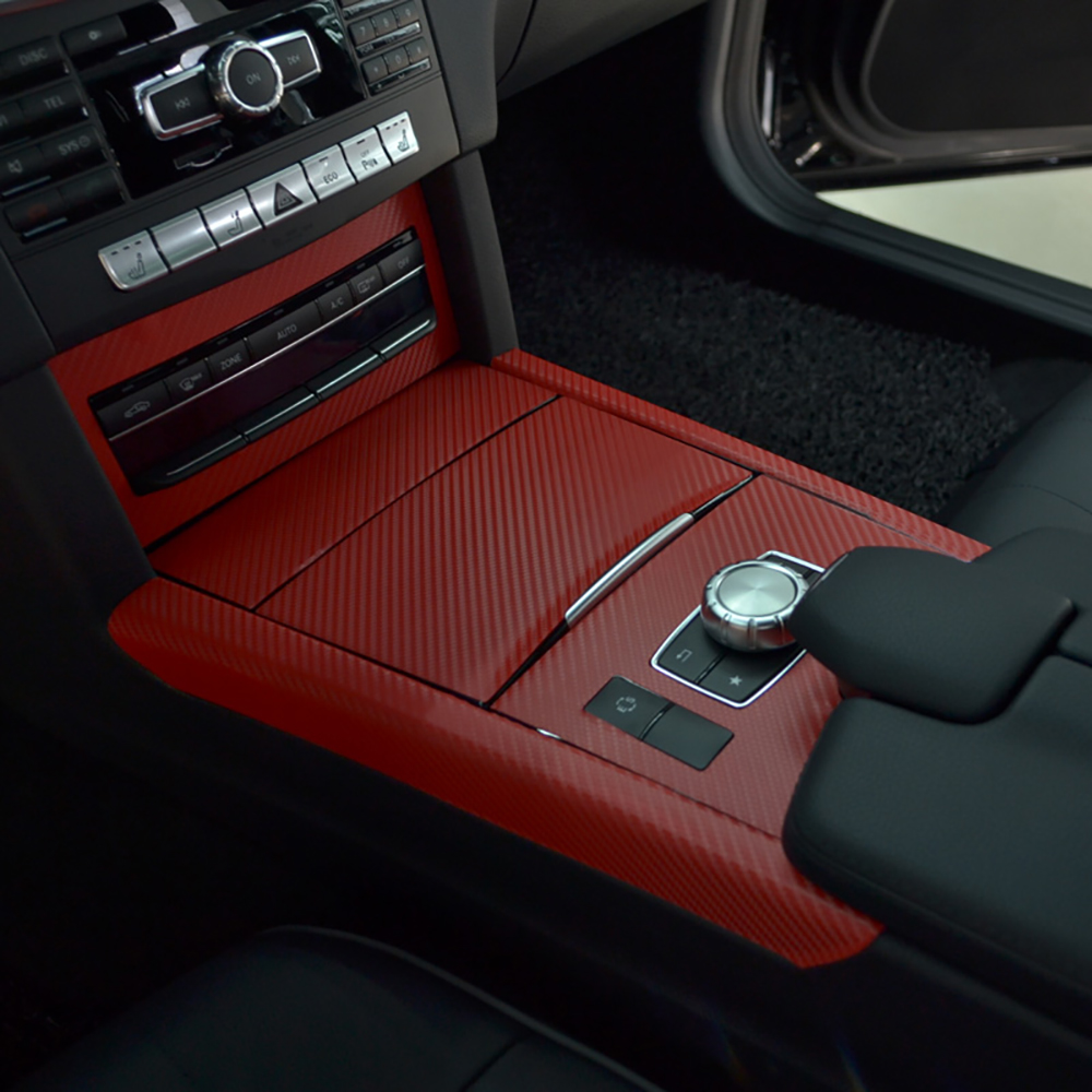 KSTE Marco de Control Central 4pcs de Paneles de Fibra de Carbono del Aire de ventilaci/ón Cubierta Ajuste for el Tesla Model S//X 14-18