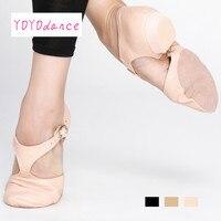 Black Tan Pink Leather Teacher Jazz Dance Sandal Shoes for Teachers Professional Sandals Shoes Jazz Dance Shoes