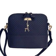 HOT SALE!2017 Women Messenger Bags Fashion Mini Bag With Deer Toy Shell Shape Bag Women Shoulder Bags free shipping S-263