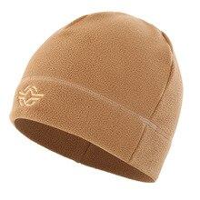 Berretto In Pile Outdoor Uomini Donne di Campeggio Cappellini da escurione  Caldo Antivento Protezioni di Inverno 93a58193037c