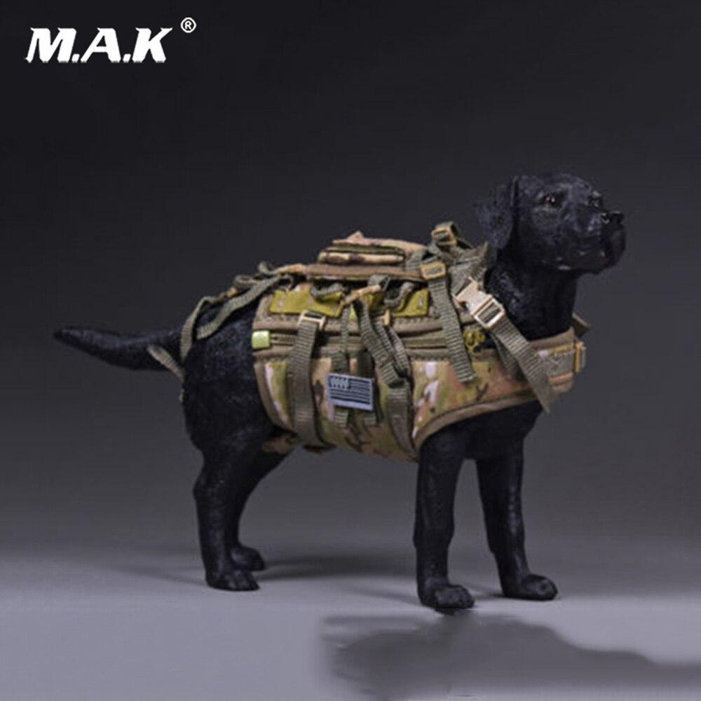 1/6th Весы Лабрадор Seal Team Six специальные собаки с подвесной Сумки модель Игрушечные лошадки для 12 дюйм(ов) фигурку