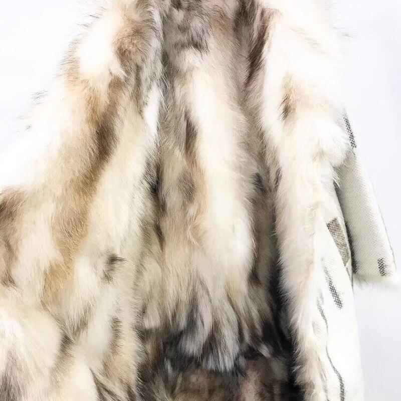 Laine Naturel Chaud Survêtement Fru Laveur Parkas De Fourrure Manteau Veste Streetwear D'hiver 1 Réel Raton Femmes 2 Moyen Parka 2018 Doublure Épais Marque x0qXTxw