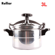 3L Aluminum Alloy Explosion-proof Pressure Cooker Stainless Steel Elastic Beam Electric Fire Outdoor Camping Cooker for 3 people(China)